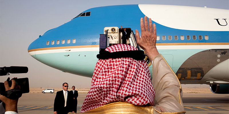 A First Visit: President Trump to Saudi Arabia