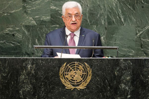 Mahmoud Abbas Addresses the UN General Assembly