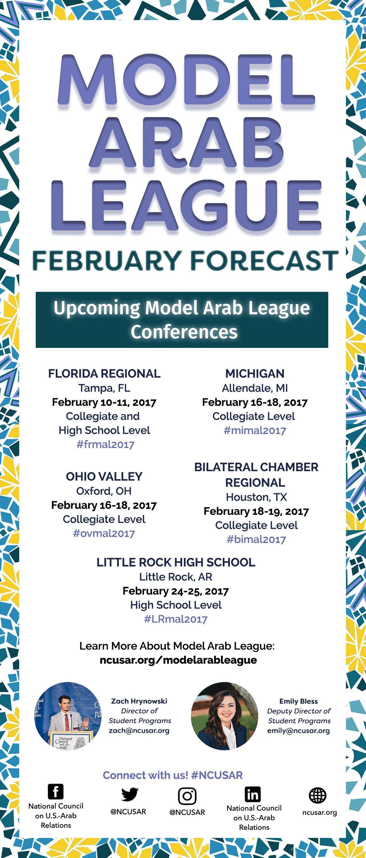 MAL February Forecast