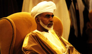 HM Sultan Qaboos bin Said Al Bu Sa'id, Sultan of Oman.