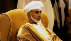 H.M. Sultan Qaboos bin Said Al Bu Sa'id, Sultan of Oman, who marked the 40th anniversary of his rule and of the continuing Omani Renaissance in 2010.