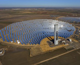 Solar array in Saudi Arabia